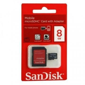 MEMORIA MICRO SANDISK 8GB 2IN1 B35
