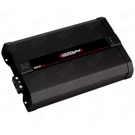 MODULO SOUNDIGITAL SD8000.1D (2R)  BLACK