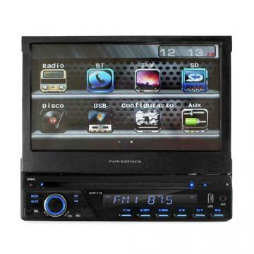CAR /DVD RET. POWERPACK DVTF-718.RD (BT /7 /TV)