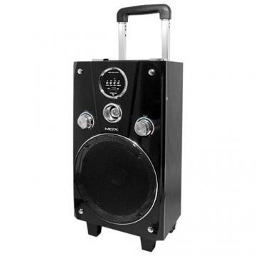 CAIXA AMP MOX K102B 8 5000W /FMS /USB /SD /BT PRETO