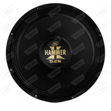 SUB *EROS 12 HAMMER 5.2K-8R BLACK   2600RMS
