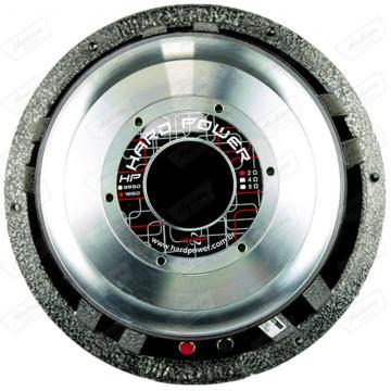 SUB HARD POWER 12 HP-1850  2OHMS   1850RMS