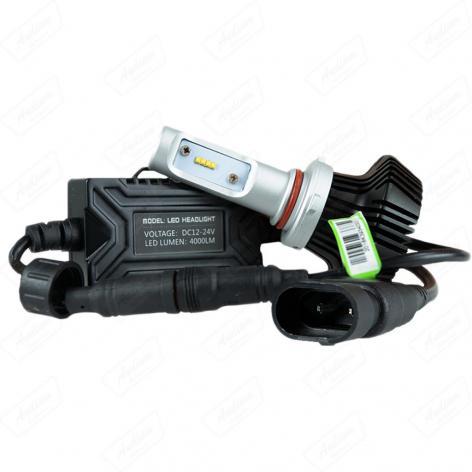 XENON **LED SKANNEN HB3(9005)12 /24V (4000LM) 6500K  S /GARANTIA
