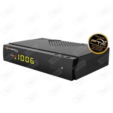 RECEPTOR FTA AZAMERICA S1006 IPTV ON DEMAND