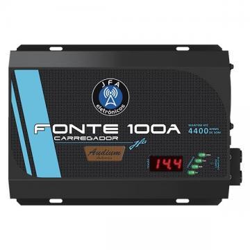 FONTE *JFA CARREGADOR 100A BI VOLT