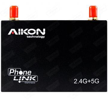 MIRROR LINK ESPELHAMENTO AIKON AK-R100 2.4+5.0 WIFI