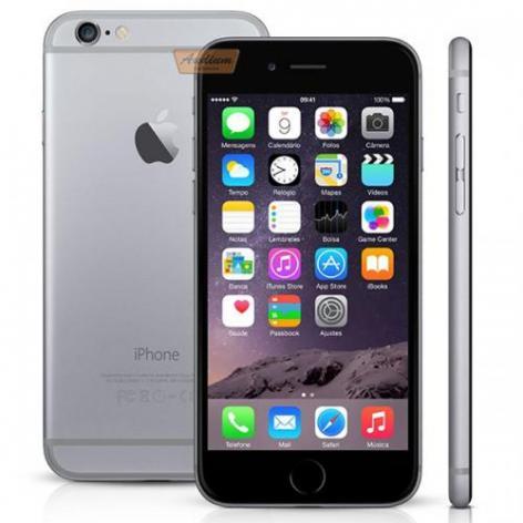 CEL *IPHONE 6 64GB A1549 *RC* CINZA S /GARANTIA