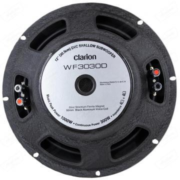 SUB CLARION 12 WF3030D SLIM      300RMS