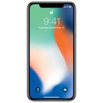 CEL *IPHONE * X * 64GB A1901 SILVER MQAR2BZ /A