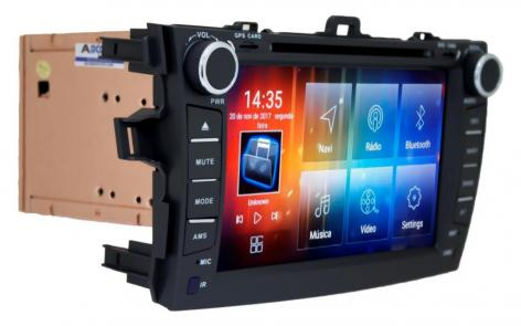 MULT AIKON 8.0 ANDROID 6.0 TOYOTA COROLLA 08 /13 8 AS-49030W DVD