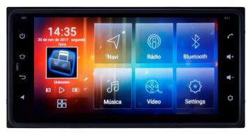 MULT AIKON 8.0 ANDROID 6.0 TOYOTA HILUX 01 /11 6.95 AS-49050W  S /DVD