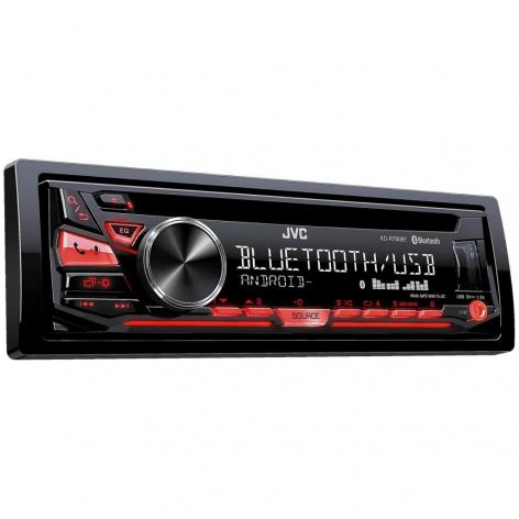 CAR /CD JVC KD-R780BT    USB /MP3 /1RCA /MIC.BT /CONTROLE