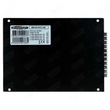 MODULO SOUNDIGITAL SD800.4D *4CH* BLACK EVO 4R