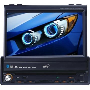 CAR /DVD RET. MIDI MD-7013 7 /TV /BLUE /TOU /USB