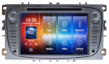MULT AIKON 8.0 ANDROID 6.0 FORD FOCUS 08 /13 7 AS-17021C DVD