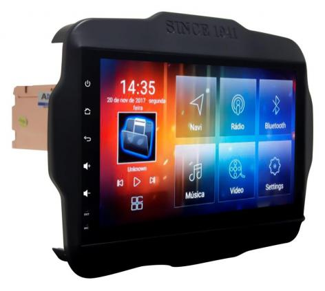 MULT AIKON 8.0 ANDROID 6.0 JEEP RENEGADE 9 AS-23047W PNE S /DVD