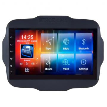 MULT AIKON 8.0 ANDROID 7.1 JEEP RENEGADE 9 PNE *S /TV* AS-23047W