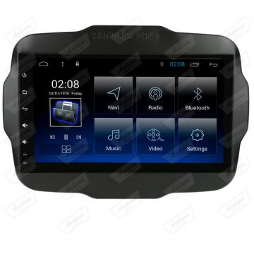 MULT AIKON 8.8 ANDROID 7.1 JEEP RENEGADE 9 ASF-23045C CANBUS TV HD