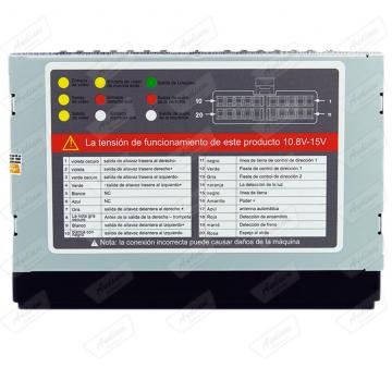 CAR 2 DIN S /MECAN. ECOPOWER EP-7006 BT /USB /SD 7