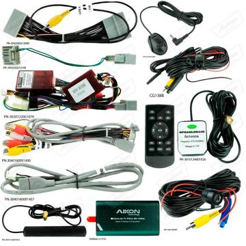 MULT AIKON XDROID ANDROID 8.0 HONDA CIVIC 15 8 AKF-36041C FULL HD TV