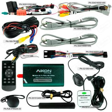 MULT AIKON XDROID ANDROID 8.0 CAR PLAY JEEP RENEGADE 9PNE AKF-44047WA
