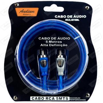 CABO RCA (5M) AUDIUM RCA-4016 **AZUL**