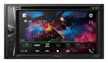 CAR /DVD PIONEER *AVH-G215BT S /CONTROLE SEM SAIDA VIDEO