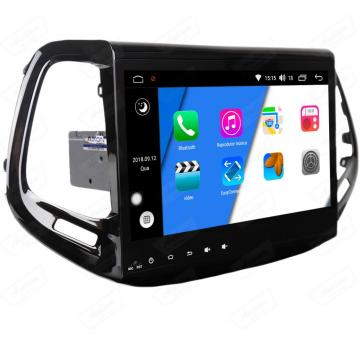 MULT AIKON XDROID ANDROID 8.0 JEEP COMPASS 10 17 /18 AKF-44050C SEM TV