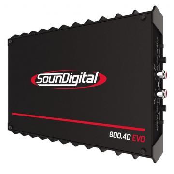 MODULO SOUNDIGITAL SD800.4D *4CH* BLACK EVO 2R