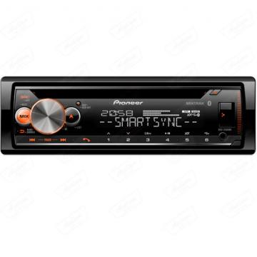 CAR /CD PIONEER *DEH-X500BT (2RCA)C /CONTR /MIC /SMART SYNC /DUAL BLUETOOTH
