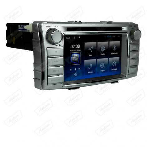 MULT AIKON 8.8 ANDROID 8.1 TOYOTA HILUX 12 /16 6.2 ASF-49060W DVD STV