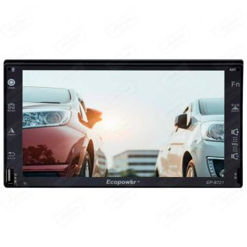 CAR 2 DIN S /MECAN. ECOPOWER EP-8721 7 ANDROID 7.1  BT /GPS