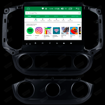 MULT AIKON X2 ANDROID 8.1 GM S10 2018 /19 AK-12073C-DSP LOW-HIGH STV
