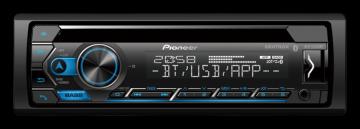 CAR /CD PIONEER *DEH-S4250BT USB /BT /MIXTRAX /CONTROLE /2RCA /MIC-BT