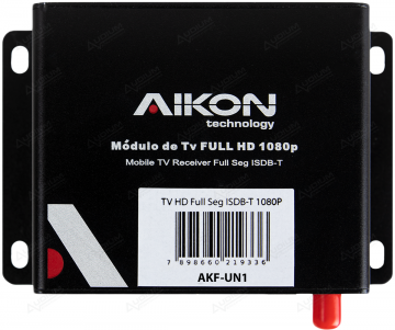 MULT AIKON TV BOX FULL SEG 1 ANTENA EMB *PLASTICO*